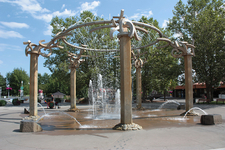 Statue In Riverfront Park, Spokane