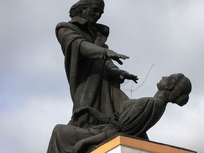 Statue Of Abbe Faria, Panjim