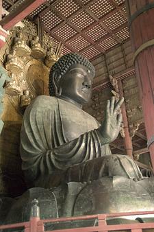 Statue Of Buddha At Todaiji