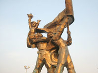 Estatua de Dien Bien Phu Victoria