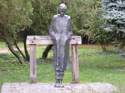 Statue Of Radnóti Miklós, Mohács