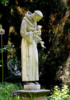 Statue Of St. Francis Of Assissi