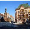 Statue Of Zsolnay, Pécs, Hungary