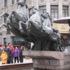 Statue Of Five Horses In Wenzhou