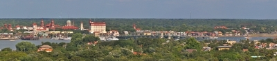 St .  Augustine  Florida  Panoramic  View