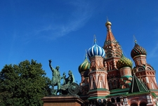St Basils Cathedral On Red Square