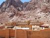 St. Catherine Monastery With Landscape - Egypt Sinai