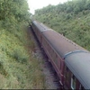 Steam Hauled Train In Mid Norfolk Railway