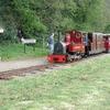 Steam Train On Perrygrove Railway