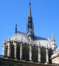 Sainte-Chapelle Exterior View