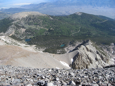 Stella & Teresa Lakes From Wheeler Peak