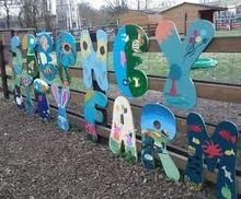 Stepney City Farm Sign