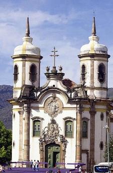 St. Francis Church In Ouro Preto