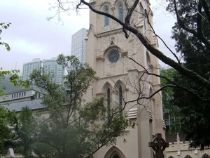 Hong Kong St. John  's Cathedral
