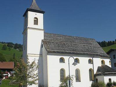 St Josef Parish Church Zöblen Austria