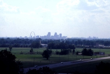 St. Louis As Seen From Monks Mound