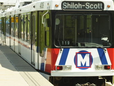 St  Louis  Metrolink Train