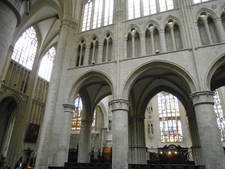 St Michael And Gudula Cathedral View