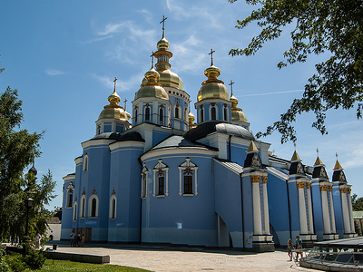 St. Michael's Golden Dome Monastery In Kiev