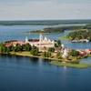 Stolobny Island - View Nilov Monastery