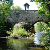 Stone Arch Bridge Across The Glan River, Glan, Carinthia