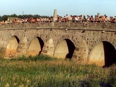 Stone Bridge Across The Abava In Kandava