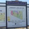 Stonebrige Community Plan Sign