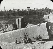 Stone Of The South B&W - Baalbek - Lebanon