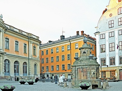 Storatorget - Old Square Of Stockholm
