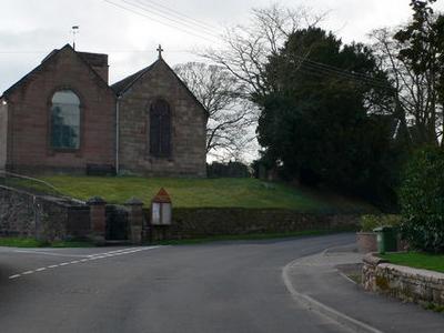 St  Oswald Church Hinstock