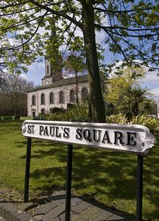 St Pauls Square Church And Road Name