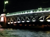 St. Petersburg Palace Bridge - Night View