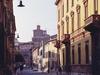 Street In The Renaissance Town Center Of Ferrara