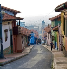 Streets Of Bogota - Colombia