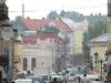 Street In Drohobych City Centre