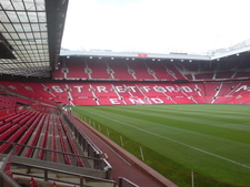 The West Stand With Its Mosaic Of Seats