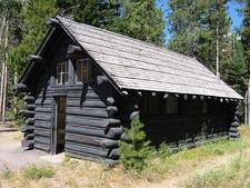 String Lake Comfort Station - Grand Tetons - Wyoming - USA