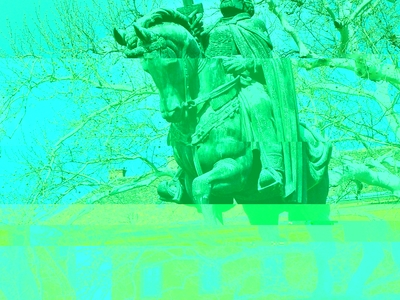 St. Stephen's Equestrian Statue, Székesfehérvár