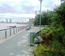 Looking South From Stuyvesant Cove Park