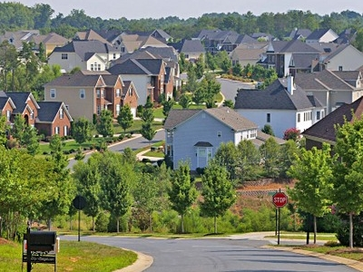 Suburban Homes In Fort Mill.