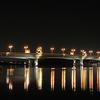 Sultan Mahmud Bridge At Night