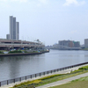 Sumida River From Suijin Bridge In Arakawa