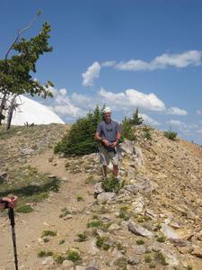 Summit Lake Trail - Yellowstone - USA