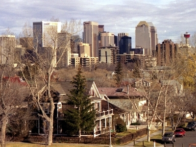 Sunalta With Downtown Calgary