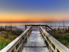 Sunrise From Boardwalk - Florida Keys FL