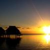 Sunrise Over Moorea