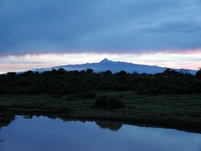 The Central Peaks Of Mount Kenya