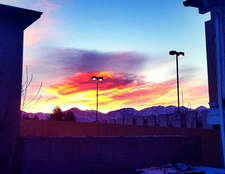 Sunrise Over Mt. Olympus