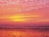 Sunset At Cardiff Beach