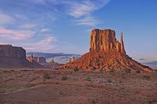 Sunset At Monument Valley AZ